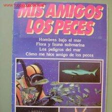 Coleccionismo Álbum: ALBUM MIS AMIGOS LOS PECES, PUBLICACIONES HERES S.A. - COMPLETO. Lote 11731714