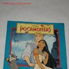 Coleccionismo Álbum: POCAHONTAS, DE WALT DISNEY. EDITADO POR PANINI. COMPLETO. Lote 26810590