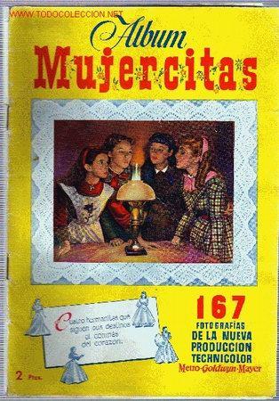 ÁLBUM MUJERCITAS, COMPLETO. (Coleccionismo - Cromos y Álbumes - Álbumes Completos)