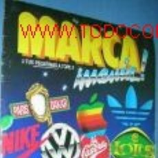 Coleccionismo Álbum: MARCA MANIA! . COLECCION COMPLETA... Lote 2390360