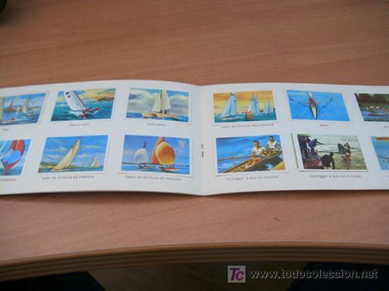 Coleccionismo Álbum: EL DEPORTE VISTO POR SUS ASES. NESTLE ( REMO Y VELA ) COMPLETO - Foto 2 - 13808018