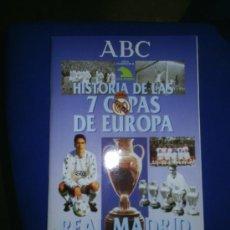 Coleccionismo Álbum: M69 ALBUM COMPLETO HISTORIA DE LAS 7 COPAS DE EUROPA REAL MADRID REF 1. Lote 18231400