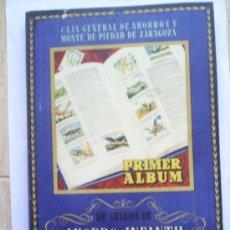 Coleccionismo Álbum: PRIMER ALBUM -AHORRO INFANTIL-CAJA DE AHORROS -ZARAGOZA--CALATAYUD 1944-47. Lote 26900489