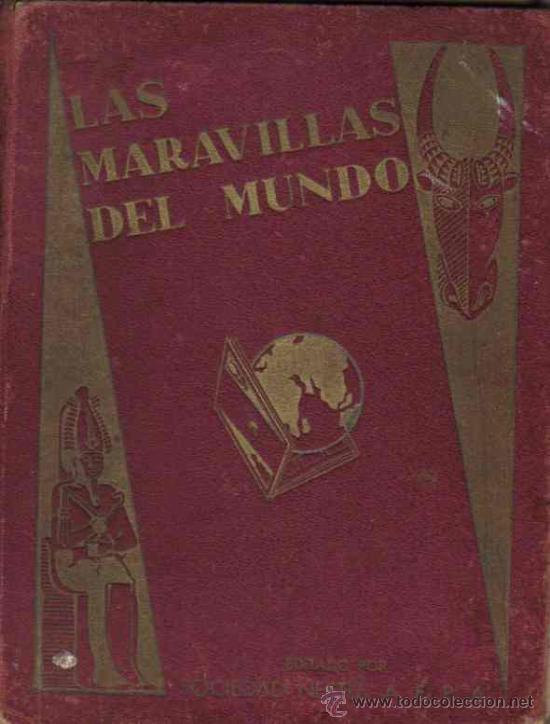 ALBUM DE CROMOS - MARAVILLAS DEL MUNDO - NESTLE - COMPLETO (Coleccionismo - Cromos y Álbumes - Álbumes Completos)