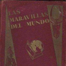 Coleccionismo Álbum: ALBUM DE CROMOS - MARAVILLAS DEL MUNDO - NESTLE - COMPLETO. Lote 175962438
