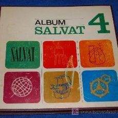 Coleccionismo Álbum: SALVAT 4 - TAPA DURA ¡COMPLETO E IMPECABLE!. Lote 26060364