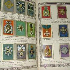 Coleccionismo Álbum: MEDALLAS DE DIFERENTES ORDENES Y MERITOS, MILITARIA 287 CROMOS AÑO 1930. Lote 26162366