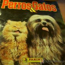 Colecionismo Caderneta: PERRO Y GATOS ( ALBUM COMPLETO ) PANINI (COIB34). Lote 13547331