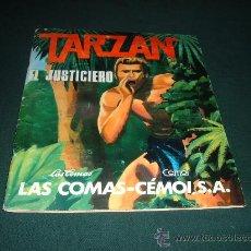 Coleccionismo Álbum: TARZAN EL JUSTICIERO,CHOCOLATES LAS COMAS-CENOI. Lote 11933792