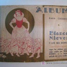 Coleccionismo Álbum: BLANCA NIEVES BLANCANIEVES Y LOS SIETE ENANOS - FHER - ALBUM CROMOS COMPLETO. Lote 15233374