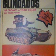 Coleccionismo Álbum: BLINDADOS - COMPLETO, NUEVO CON LOS CROMOS SIN RECORTAR NI PEGAR. Lote 12108387