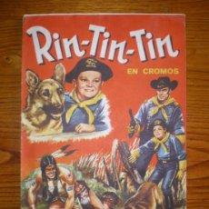 Coleccionismo Álbum: ALBUM CROMOS RIN-TIN-TIN (COMPLETO). Lote 24998087