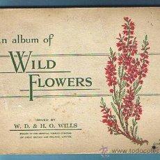 Coleccionismo Álbum: FLORES SILVESTRES. COLECCION COMPLETA DE 50 CROMOS. EDITADO POR JOHN PLAYER, 1936.. Lote 21149926