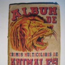 Coleccionismo Álbum: ANIMALES Y PLANTAS MARINAS - FHER - ALBUM DE CROMOS COMPLETO. Lote 12792613