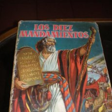 Coleccionismo Álbum: ALBUM COMPLETO LOS DIEZ MANDAMIENTOS (BRUGUERA 1959). Lote 26781344