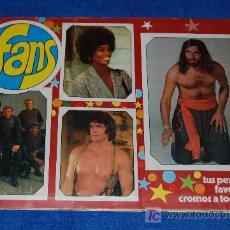 Coleccionismo Álbum: FANS - G. CUSCÓ ¡COMPLETO!. Lote 26043130