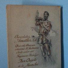 Coleccionismo Álbum: ALBUM DON QUIJOTE DE LA MANCHA DE CHOCOLATES AMATLLER. Lote 26209691
