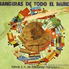 Coleccionismo Álbum: ALBUM DE CROMOS BANDERAS DE TODO EL MUNDO, SALVAT, S.A. DE EDICIONES. Lote 24054025