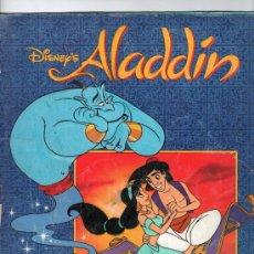 Coleccionismo Álbum: ALBUM DE CROMOS DISNEY'S ALADIN. Lote 13526010