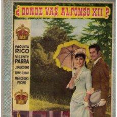 Coleccionismo Álbum: ¿DÓNDE VAS ALFONSO XII? FHER 1960. COMPLETO 168 CROMOS. Lote 17087252