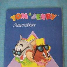 Coleccionismo Álbum: ÁLBUM TOM Y JERRY COMPLETO. CROMOS IMPECABLES, PERFECTO. PANINI MEMOSTICKERS. Lote 27550268