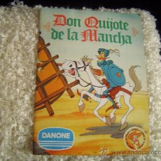 Coleccionismo Álbum: ALBUM COMPLETO DON QUIJOTE DE LA MANCHA. ( DANONE ). Lote 14110165