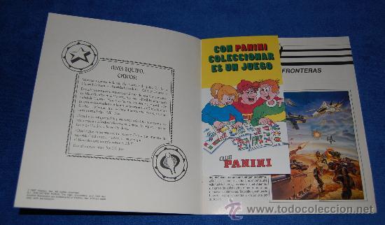 Coleccionismo Álbum: Gijoe - PANINI ¡COMPLETO e IMPECABLE! - Foto 2 - 86171071