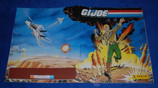 Coleccionismo Álbum: Gijoe - PANINI ¡COMPLETO e IMPECABLE! - Foto 4 - 86171071