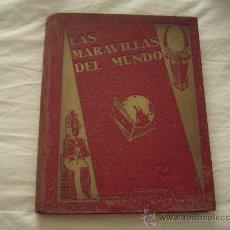 Coleccionismo Álbum: ALBUM COMPLETO LAS MARAVILLAS DEL MUNDO,SOCIEDAD NESTLÉ... Lote 14548595