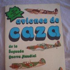 AVIONES DE CAZA. ALBUM DE CROMOS COMPLETO.