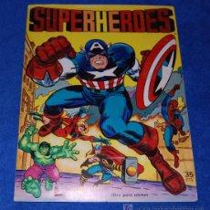 Coleccionismo Álbum: SUPERHEROES - FHER ¡COMPLETO E IMPECABLE!. Lote 26130326