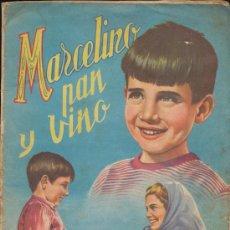 Coleccionismo Álbum: MARCELINO PAN Y VINO. FHER 1955. COMPLETO 240 CROMOS.. Lote 14883270