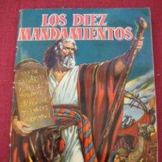 Coleccionismo Álbum: ÁLBUM CROMOS LOS DIEZ MANDAMIENTOS --EDIT. BRUGUERA 1959 COMPLETO. Lote 26833799
