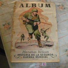 Coleccionismo Álbum: HAZAÑAS BELICAS AÑO 1957 COMPLETO 144 CROMOS CAJA 20.. Lote 18373797