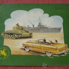 Coleccionismo Álbum: ÁLBUM VAISSEAUX DE GUERRE, CHARS,AUTOS 1952 CHOCOLAT JACQUES COMPLETO 144 CROMOS BARCOS GUERRA. Lote 26897713