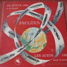 Coleccionismo Álbum: ÁLBUM LES AUTOS 1964 DANS LE MONDE CHOCOLAT JACQUES ---COMPLETO 144 CROMOS. Lote 27187703