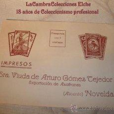 Coleccionismo Álbum: FOLLETO ALBUM CROMOS SALSAFRAN, NOVELDA.. Lote 15014956