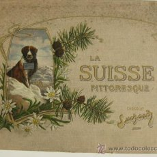 Coleccionismo Álbum: ÁLBUM LA SUISSE PITTORESQUE CHOCOLAT SUCHARD SUIZA AÑOS 30.COMPLETO 240 CROMOS. Lote 27016347
