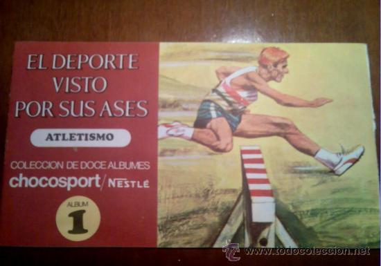 Coleccionismo Álbum: EL DEPORTE VISTO POR SUS ASES ALBUM NESTLÈ 1967 Nº1 ATLETISMO - Foto 3 - 26360584