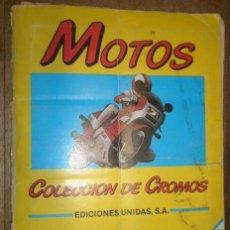 Coleccionismo Álbum: ÁLBUM DE CROMOS CON 180 CROMOS, COMPLETO. Lote 15265411