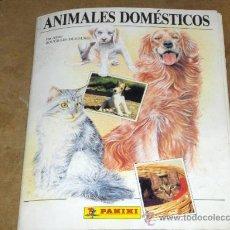 Coleccionismo Álbum: ANIMALES DOMÉSTICOS COMPLETO. 360 CROMOS. PANINI.. Lote 15332492