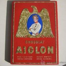 Coleccionismo Álbum: ÁLBUM CROMOS CHOCOLATE AIGLÓN AÑOS 40 IMPRESIONANTE PRECIOSO Y TAMAÑO GIGANTE. 720 CROMOS. Lote 60412554