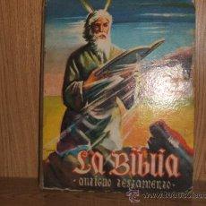 Coleccionismo Álbum: LA BIBLIA ANTIGUO TESTAMENTO - TAPAS DURAS - DULCES RODRIGUEZ - COMPLETO - A12 - . Lote 26317458