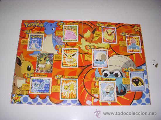 Coleccionismo Álbum: POKEMÓN,ALBUM DE CROMOS COMPLETO - Foto 2 - 25526771