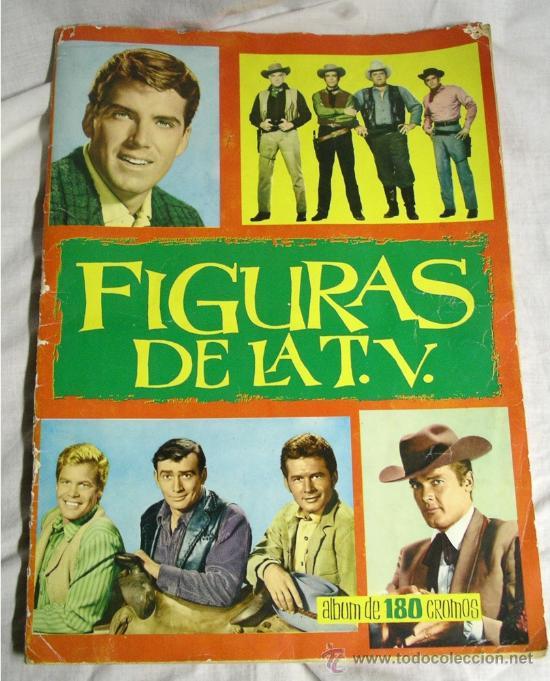 FIGURAS DE LA TV, AÑO 65, EDICIONES ESTE (Coleccionismo - Cromos y Álbumes - Álbumes Completos)