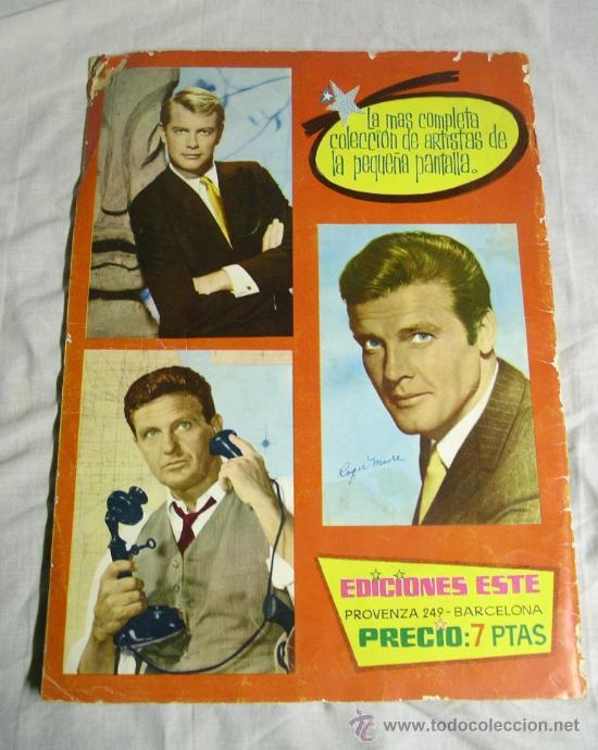 Coleccionismo Álbum: Figuras de la TV, año 65, Ediciones Este - Foto 2 - 26694474