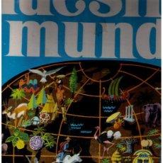 Coleccionismo Álbum: NUESTRO MUNDO.ATLAS ILUSTRADO BIMBO Nº 1. 1967. COMPLETO.. Lote 15797106