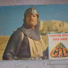 Coleccionismo Álbum: EL CID COMPLETO CON CHARLTON HESTON Y SOFIA LOREN. Lote 21911463