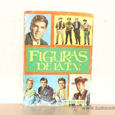 Coleccionismo Álbum: ALBUM FIGURAS DE LA TV SON 180 CROMOS COMPLETO AÑO 1965 . Lote 16678557