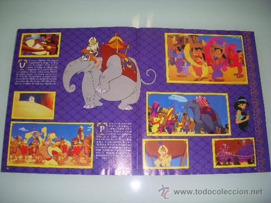 Coleccionismo Álbum: ALADDÍN,ALBUM COMPLETO DE CROMOS,ED.PANINI - Foto 2 - 26896866